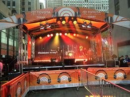 mobile stage Rental, Mobile Stage