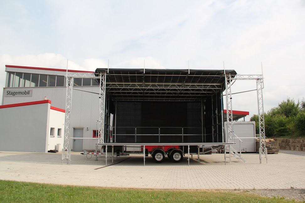 L Stage Rental For Events Comes In Many Sizes - oc